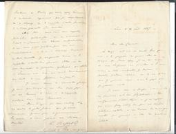 LEON BASSOT  ( 1841-1917 )(  Général -membre Institut )  MEXIQUE - MEXICO Autographe   1865 - Handtekening