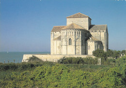 17 Talmont Sur Gironde Eglise Sainte Radegonde (2 Scans) - France
