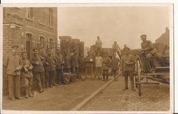 SIN LE NOBLE CARTE PHOTO ALLEMANDE  FELDPOST 1917 1347 D2 - Sin Le Noble