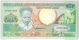 Suriname - Pick 132 - 25 Gulden 1988 - Unc - Surinam