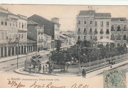 Bresil - Recife - Praca Conde D'Eu - Recife