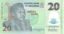 Nigeria - Pick 34i - 20 Naira 2013 - Unc - Nigeria