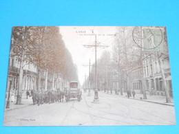 """59 ) Lille - N° 1 - Le Boulevard De La Liberté """" Attelage """" - Année 1921 : EDIT : L'hoste - Lille"""