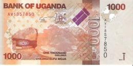 Uganda - Pick 49 - 1000 Shillings 2010 - Unc - Uganda