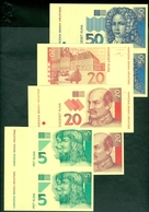 Croatia Banknote Republic 1993 1994 KUNA Proof In PAIR Numismatic - Croatie