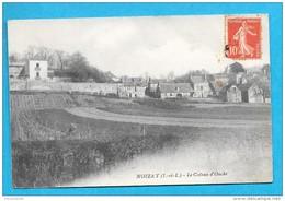 37-Noizay-le Coteau D'Ouche-cpa écrite 1910 - Other Municipalities