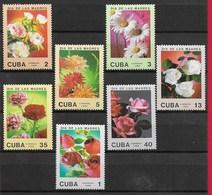 CUBA MNH - 1988 Festa Della Mamma - Fiori - Vari ¢ - Michel CU 3166 - 3172 - Cuba