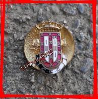 Ancien Insigne à Sabot Club De Football Caldas Sport Clube, Caldas Da Rainha, D4 Portugal, Boutonniere - Football