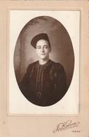 Rare Photo Carte D'un Soldat Du 8 E Zouave Avec Fourragère Et Insigne Faite à Oran - 1939-45