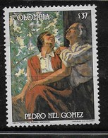 COLOMBIA MNH - 1985 Pedro Nel Gomez - 37 $ - Michel CO 1647 - Colombia