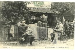 LE CROTOY Famille Du Pêcheur Coll. JH 165 - Le Crotoy