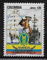 COLOMBIA MNH - 1985 Airmail - The 50th Anniversary Of Almirante Padilla Naval College - 20 $ - Michel CO 1652 - Colombia