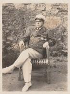 Rare Belle Photo Format 8.5 X 11.5 Officier De Marine Avec Médailles - 1914-18