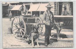 Milchkarren - Baden 1908 - Baden-Baden