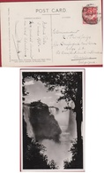 Zambia Northern Rhodesia Victoria Falls 1938 To CMB Compagnie Maritime Belge Afrique Africa Afrika - Autres - Afrique