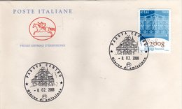 Italia 2008 FDC Borsa Italiana - 6. 1946-.. República