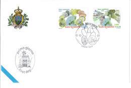 SAN MARINO 2001 - BENVENUTO EURO - FDC - FDC