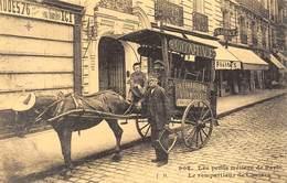 Les Petits Métiers De Paris - Le Rempailleur De Chaises - Attelage De Cheval - Cecodi N'P 162 - France
