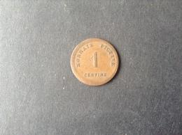 TTB 1 Ct Gand Monnaie Fictive 1833 - Non Classés