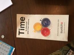 Swatch Time - Libri, Riviste, Fumetti