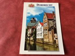 Nederland  Dordrecht. Taankade En Achterzijde Wijnstraat Met Bonifatiuskerk - Dordrecht