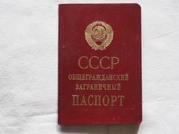 Passeport Russian  Soviet Union USSR 1988 Visas Bulgaria   Passeport Reisepass Pasaporte Border Stamp  A 185 - Documenti Storici