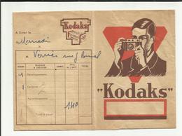 """POCHETTE DE DEVELOPPEMENT """" KODAKS  """" POUR RANGEMENT NEGATIF ET PHOTOS  . - Matériel & Accessoires"""