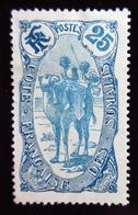 1909 Côte Française Des Somalis Yt 73 . Camel Corps . Neuf Trace Charnière - Neufs