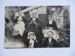 (Morbihan - 56 - BAUD....!!)  -   Groupe De Baudaises........................voir Scans - Baud