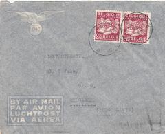 BELGIUM - Cover To Yugoslavia 1949 - Belgique