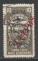 Ecuador 1934. Scott #RA27 (U) Arms Of Ecuador, Telegraph Stamp ** - Equateur