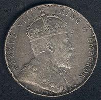 Straits Settlements, 1 Dollar 1907, Silber - Malaysia