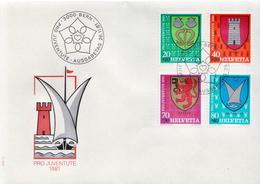 Switzerland Set On FDC - Covers