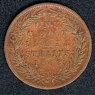 Straits Settlements, 1 Cent 1862 - Malaysia