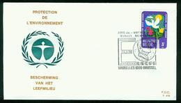 FD Belgien FDC 1974 - MiNr 1759 - Umweltschutz, Robert Schuman Vereinigung - FDC