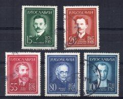 Yugoslavia - 1960 - Portraits (Part Set) - Used - 1945-1992 République Fédérative Populaire De Yougoslavie
