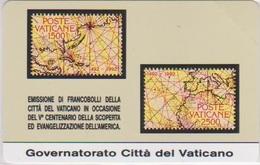 VATICAN - SCV-000 - STAMP - MINT - FIRST VATICAN CARD - RARE - Vaticano