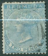 Bermuda - 1865/1973 - Yt 2 - Victoria - Oblitéré - - Bermudes