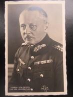 Postkarte Freiherr Von Fritsch - R! - Briefe U. Dokumente