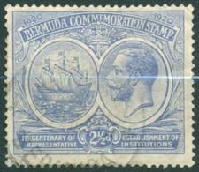 Bermuda - 1921 - Yt 56 - Tricentenaire Institutions Représentatives - Obl. - Bermudes