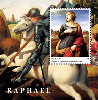 PALAU 2012 - Arts, Peintures, œuvres De Raphaël  - BF Neuf // Mnh Sheetlet - Palau