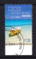 Cocos Islands 2011 Boats $1.20 Marginal CTO - Cocos (Keeling) Islands