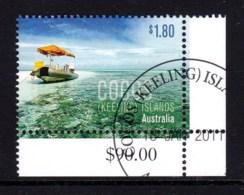 Cocos Islands 2011 Boats $1.80 Corner CTO - Cocos (Keeling) Islands