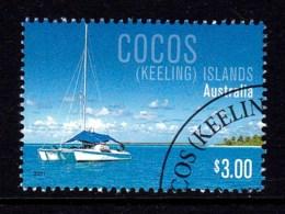 Cocos Islands 2011 Boats $3 CTO - Cocos (Keeling) Islands