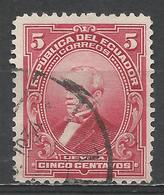 Ecuador 1925. Scott #208 (U) President, José M. Urvina * - Equateur
