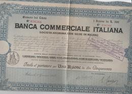 Banca Commerciale Italiana - Azione - Actions & Titres