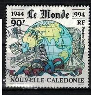 NOUVELLE CALEDONIE            N°  YVERT   674  OBLITERE       ( Ob  4/ 14 ) - Usati