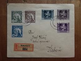 CECOSLOVACCHIA Anni '30 - Raccomandata Spedita Da Varsavia + Spese Postali - Cecoslovacchia