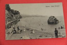 Savona  I Bagni Miramare 1920 - Autres Villes