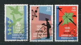 Surinam Nr.663/5         O  Used       (049) - Surinam ... - 1975